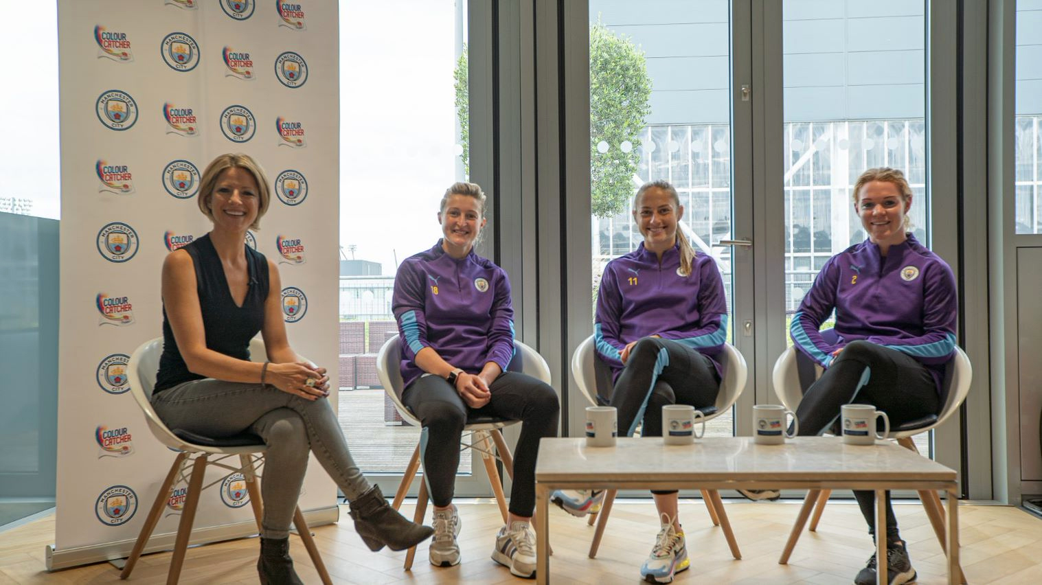 Manchester City Women 'Up Close and Personal'
