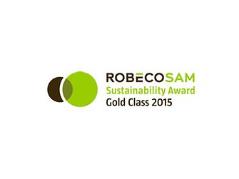 RobecoSAM Sustainability Award Gold Class Logo