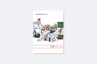 Cover of Henkel's Sustainability Report 2013