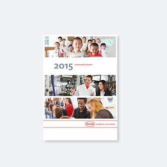 Cover Sustainability Report 2015