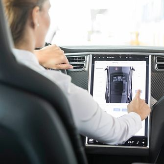 Displays will increasingly digitize the cockpits of modern cars