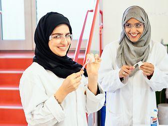 Experts Khulood AlKhoori and Inaas Ibrahim