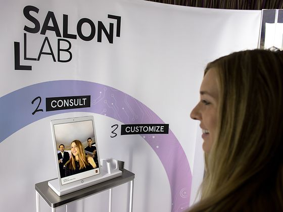 SalonLab technology on display