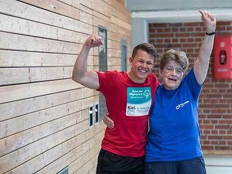"""""""Gemeinsam stark"""" – das Motto der Special Olympics"""