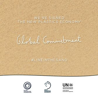 "Henkel is among the 250 organizations that signed the New Plastics Economy's ""Global Commitment""."