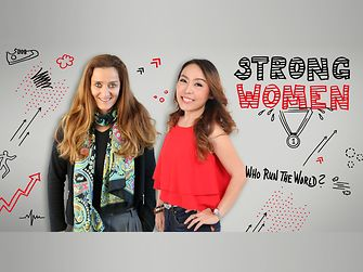 Strong women: Rapeephan Chiraphichet and Claudia Wittfoth