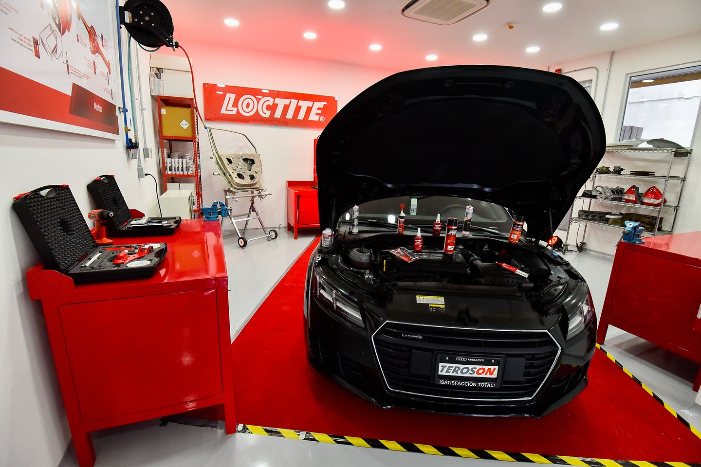 Centro de entrenamiento y aplicaciones en reparación para la industria automotriz - ¿Dónde se utilizan los productos Teroson?